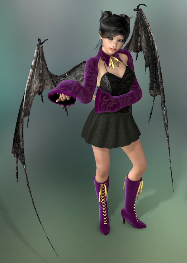 Image Aiko 3 Goth Lady